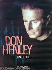 Eagles 2000 Don Henley Inside Job Original Promo Poster