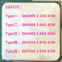 Intel Q8200S Q8400S Q9400S Q9505S Q9550S LGA775 CPU Processor
