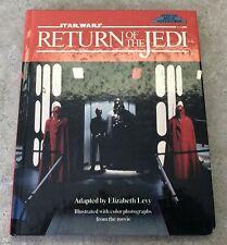 1983 STARWARS HARD COVER BOOK - RETURN OF THE JEDI NO DUST COVER