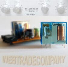 Telefunken tr500 tr550 sustituto relés altavoces con oro contactos! nuevo!