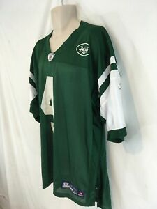 Reebok Onfield NFL Equipment New York Jets Brett Favre #4 Jersey