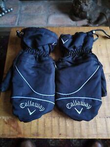 Callaway Winter Heated Golf Mitts Gloves BNWOT