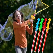 Large Bubble Western Sword Shape Bubble Sticks Kids Soap Bubble Outdoor Toy Gift