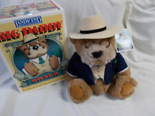 1992 Lands End Big Daddy Owner Authentic Rugby Bear by Gund