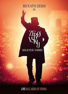 Renato Zero Zerovskij Solo Per Amore Live Deluxe Limited Edition 2 CD /32 Tracce