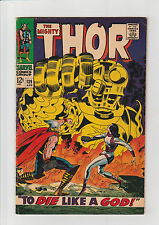 Thor  #139  F  Marvel comic 1967 Kirby Sif