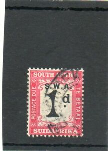 SG D52 S.W.AFRICA USED POSTAGE DUE CAT £15
