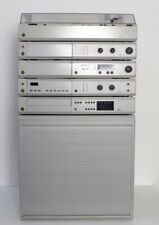 Komplett-Anlage Braun Atelier HiFi T1 A1 C1 CD2/3 P1 AF1, grau, TOP Zustand