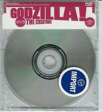 Creatures Godzilla Cd #2 Video Cd NEW SEALED SIOUXSIE