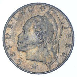 Better Date - 1961 Liberia 50 Cents - SILVER *234