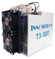 Brand new still in box Innosilicon T3 50THs SHA-256, Bitcoin, Not S17,T17,S9