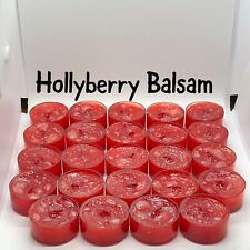 2 Dozen Hollyberry Balsam Partylite/Cccc Seconds Tealights