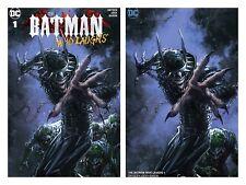 BATMAN WHO LAUGHS 1 CLAYTON CRAIN TRADE DRESS VARIANT SET HOT NEW DC SERIES NM/M