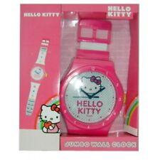 Hello Kitty Jumbo Wall Clock 92cm Wrist Watch Style Birthday Xmas Gift For Girls