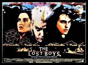The Lost Boys Vampire Movies Poster Canvas Prints Fridge Magnet 6x8 Large