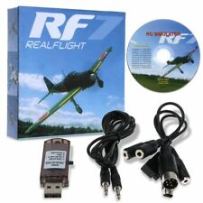 22 in 1 USB Dongle Flight Simulator Cable For RC Helicopter Real Flight G7 UK