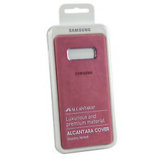 Samsung Coque en Alcantara Rose pour Galaxy Note 8