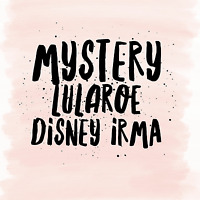 S - Small Lularoe Disney Collection Irma Tunic  NWT  Mystery Sale !