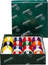 "Aramith Premier 2-1/8 inch Pool Ball Set Snooker Size Balls 2.125"" FREE Shipping"