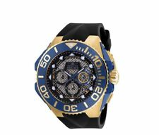 BRAND NEW INVICTA 23960 53MM COALITION FORCES SWISS CHRONOGRAPH BLUE GOLD WATCH