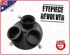 "Multi Eyepiece Revolver 1.25"" 3 Holders Telescope Precision Optical Astronomy"