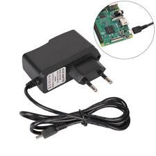 2.5A 5V Micro USB 2 Pin Cargador de EU Adaptador para Raspberry Pi 3/2 Modelo B