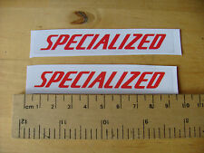 SPECIALIZED-Bike/MTB Decalcomanie Autoadesivo una coppia (t4e) FREEPOST