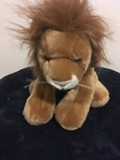 Lion Plush No Brand Very Soft 12 Inches Talk 10 Inches Wide Preowned