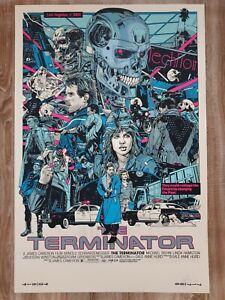 The Terminator Alternative Movie Poster Art by Mondo Artist Tyler Stout IN HAND