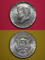 MAKE OFFER 2 Troy Ounces 1964 Kennedy Half Dollars 90% Silver Junk Coins Bullion