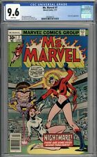 Ms. Marvel #7 CGC 9.6 NM+ M.O.D.O.K. Appearance WHITE PAGES