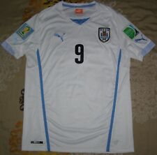 57672bf4a88 Suarez 9 camiseta Uruguay World Cup 2014 away shirt size