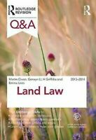 Q&a Land Law 2013-2014 Libro en Rústica Martin J. Dixon