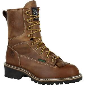 Georgia Boot Waterproof Logger Work Boot
