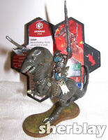 """2004 Milton Bradley Heroscape Rise of the Valkyrie Grimnak Figure with Card 4"""""""