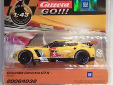 Carrera Go Chevrolet Corvette C7R No.3 CAR64032 for Slotcar Racing Track