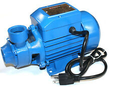 Water Pump  1/2HP Electric Clear Transfer Centrifugal Bio Diesel Pond Pool Farm
