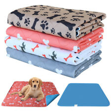 1pcs Washable Dogs Pee Pads Waterproof Mat Plaid Puppy Large Dog Potty Training