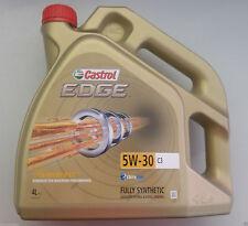4L CASTROL EDGE 5W30 C3 DPF olio motore mercedes bmw vw audi skoda seat