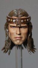 Custom Made 1/6 Arnold Schwarzenegger Conan Headsculpt the Barbarian no hot toys