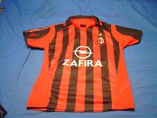 Football League A C Milano ZAFIRA Soccer Jersey Size Small