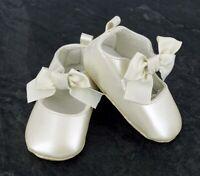 Christening Pram Shoes , Newborn Baby Girl Infant Shoes Toddler PreWalker  0-12