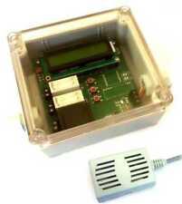 Feuchtraum Hygrostat Lüftersteuerung Lüfter Abluftsteuerung für Keller mit LCD