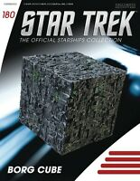 EAGLEMOSS STAR TREK STARSHIPS FIG MAG 180 BORG CUBE ST FIRST CONTACT PRE-ORDER
