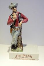 1964 JIM BEAM EUROPEAN COWBOY BACK BAR PIECE -MADE IN ITALY -  MINT CONDITION