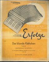 "Eldo di Lazzaro : "" Das blonde Käthchen "" ~ Foxtrott"