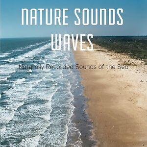 NATURAL SOUNDS CD SEA WAVES FOR RELAXATION, MEDITATION,STRESS, SPA & DEEP SLEEP