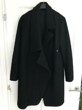 All Saints Ladies Ellis Italian Cloth Coat Lined Size 12