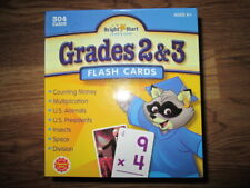Bright Start Learn & Grow Grades 2 & 3 Flash Cards money multiplication space