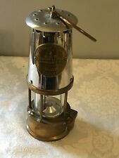Protector Lamp & Lighting Co. Eccles Miner's Lamp TYPE 6. Glass Is Great!!